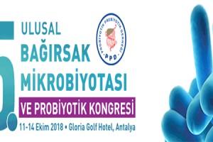 5. Ulusal Bağırsak Mikrobiyotası ve Probiyotik Kongresi
