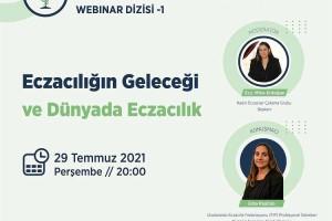 Türk Eczacıları Birliği Kadın Eczacılar Çalışma Grubu webinar serisi başlıyor.